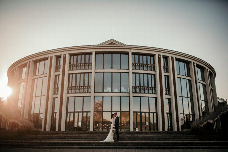 Brautpaarshooting Festpielhaus Füssen